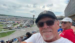 Darryl Quick Boyd attended Quaker State 400 Presented by Walmart on Jul 11th 2021 via VetTix