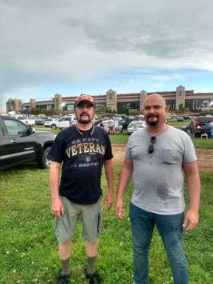 Jonas attended Quaker State 400 Presented by Walmart on Jul 11th 2021 via VetTix