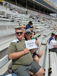 Brian  attended Quaker State 400 Presented by Walmart on Jul 11th 2021 via VetTix