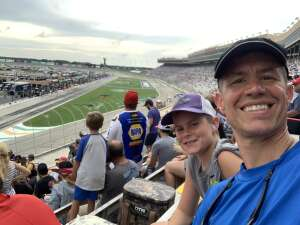 Rob attended Quaker State 400 Presented by Walmart on Jul 11th 2021 via VetTix