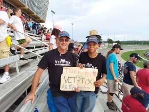 N D Wilburn attended Quaker State 400 Presented by Walmart on Jul 11th 2021 via VetTix