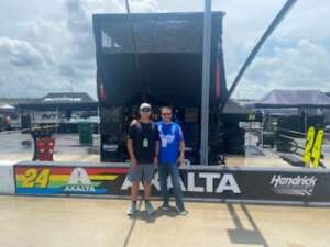 S Ford attended Quaker State 400 Presented by Walmart on Jul 11th 2021 via VetTix