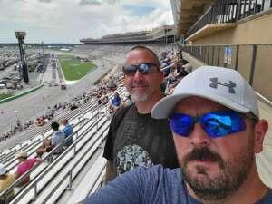 Jason attended Quaker State 400 Presented by Walmart on Jul 11th 2021 via VetTix