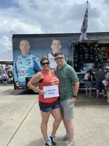Jeremy attended Quaker State 400 Presented by Walmart on Jul 11th 2021 via VetTix