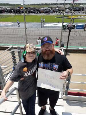Michael attended Quaker State 400 Presented by Walmart on Jul 11th 2021 via VetTix