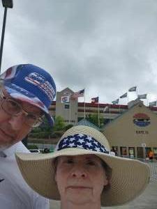 David Ward attended Quaker State 400 Presented by Walmart on Jul 11th 2021 via VetTix