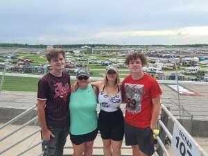 Jessica  attended Quaker State 400 Presented by Walmart on Jul 11th 2021 via VetTix