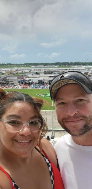 Tanya M. attended Quaker State 400 Presented by Walmart on Jul 11th 2021 via VetTix
