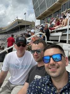 Thomas Phipps attended Quaker State 400 Presented by Walmart on Jul 11th 2021 via VetTix