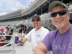 Tony attended Quaker State 400 Presented by Walmart on Jul 11th 2021 via VetTix