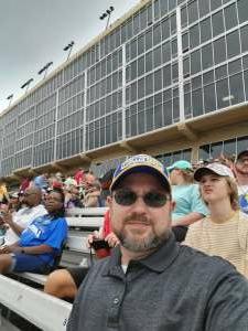 Chris attended Quaker State 400 Presented by Walmart on Jul 11th 2021 via VetTix