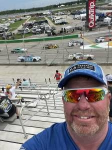 Chad M attended Quaker State 400 Presented by Walmart on Jul 11th 2021 via VetTix