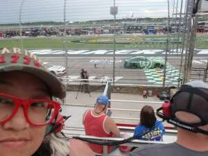 MS attended Quaker State 400 Presented by Walmart on Jul 11th 2021 via VetTix