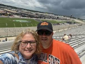 Rob G. attended Quaker State 400 Presented by Walmart on Jul 11th 2021 via VetTix