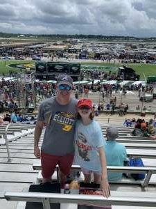 Clif attended Quaker State 400 Presented by Walmart on Jul 11th 2021 via VetTix