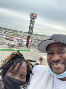 RG attended Quaker State 400 Presented by Walmart on Jul 11th 2021 via VetTix