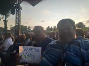 Brian F attended An Evening With Chicago and Their Greatest Hits on Jul 21st 2021 via VetTix