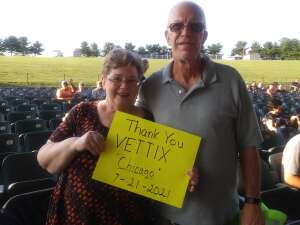 Bob74W attended An Evening With Chicago and Their Greatest Hits on Jul 21st 2021 via VetTix