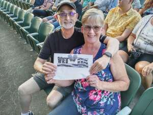 Ed and Kim Roberts attended An Evening With Chicago and Their Greatest Hits on Jul 21st 2021 via VetTix