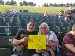 Duane attended An Evening With Chicago and Their Greatest Hits on Jul 21st 2021 via VetTix