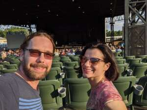 Joe & Sandy attended An Evening With Chicago and Their Greatest Hits on Jul 21st 2021 via VetTix