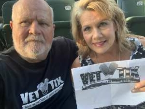 Hank attended An Evening With Chicago and Their Greatest Hits on Jul 21st 2021 via VetTix