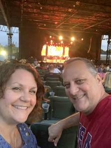 Nick & Kathy attended An Evening With Chicago and Their Greatest Hits on Jul 21st 2021 via VetTix