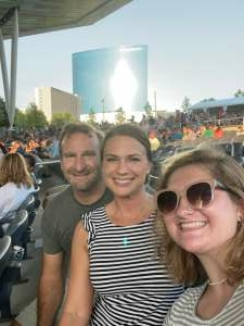 Frank attended Lindsey Stirling - Artemis Tour North America 2021 on Aug 11th 2021 via VetTix