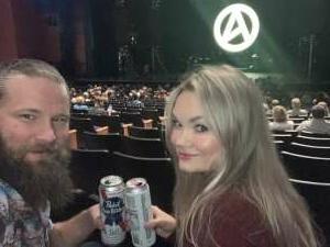 Matt attended Lindsey Stirling - Artemis Tour North America 2021 on Aug 18th 2021 via VetTix