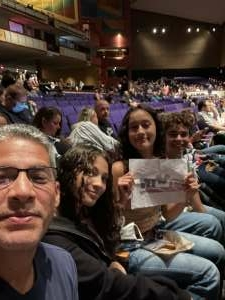 Diego Rosales attended Lindsey Stirling - Artemis Tour North America 2021 on Aug 18th 2021 via VetTix