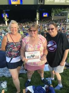 Laura  attended An Evening With Chicago and Their Greatest Hits on Jul 25th 2021 via VetTix