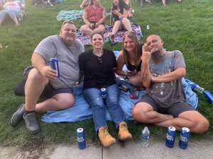 C-10 attended An Evening With Chicago and Their Greatest Hits on Jul 25th 2021 via VetTix