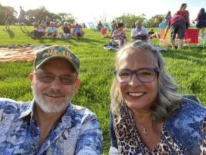 Roland and Kathy  attended An Evening With Chicago and Their Greatest Hits on Jul 25th 2021 via VetTix