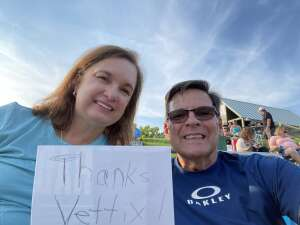 Dennis attended An Evening With Chicago and Their Greatest Hits on Jul 25th 2021 via VetTix