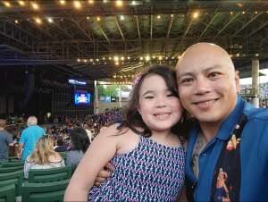 Ellizar  attended An Evening With Chicago and Their Greatest Hits on Jul 25th 2021 via VetTix