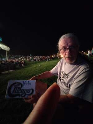 Art attended An Evening With Chicago and Their Greatest Hits on Jul 25th 2021 via VetTix