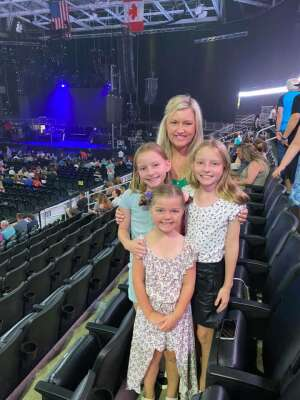 Barondeau Family attended Lindsey Stirling - Artemis Tour North America 2021 on Jul 6th 2021 via VetTix