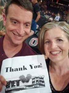 Jeff & Catina  attended Lindsey Stirling - Artemis Tour North America 2021 on Jul 6th 2021 via VetTix