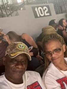 Ronald Jenkins  attended Las Vegas Aces vs. Atlanta Dream - WNBA on Jul 4th 2021 via VetTix