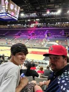 Joe attended Las Vegas Aces vs. Atlanta Dream - WNBA on Jul 4th 2021 via VetTix