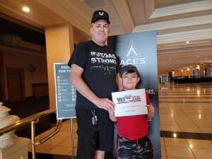 Fred attended Las Vegas Aces vs. Atlanta Dream - WNBA on Jul 4th 2021 via VetTix