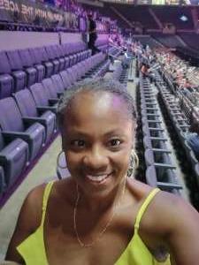 Achinat attended Las Vegas Aces vs. Atlanta Dream - WNBA on Jul 4th 2021 via VetTix