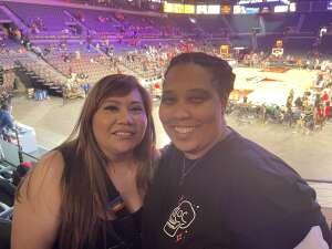 Kittrell  attended Las Vegas Aces vs. Atlanta Dream - WNBA on Jul 4th 2021 via VetTix