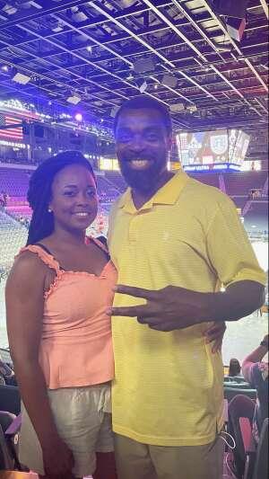 Mr. Horn attended Las Vegas Aces vs. Atlanta Dream - WNBA on Jul 4th 2021 via VetTix