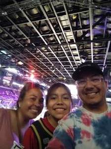 Chimal attended Las Vegas Aces vs. Atlanta Dream - WNBA on Jul 4th 2021 via VetTix
