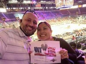 Charles attended Las Vegas Aces vs. Atlanta Dream - WNBA on Jul 4th 2021 via VetTix