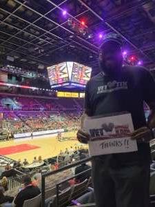 Perry Harris attended Las Vegas Aces vs. Atlanta Dream - WNBA on Jul 4th 2021 via VetTix
