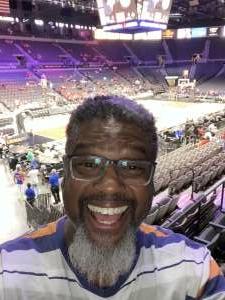 Lloyd attended Las Vegas Aces vs. Atlanta Dream - WNBA on Jul 4th 2021 via VetTix