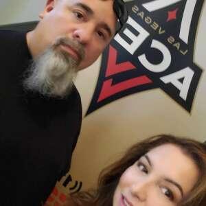 Victor reyes attended Las Vegas Aces vs. Atlanta Dream - WNBA on Jul 4th 2021 via VetTix