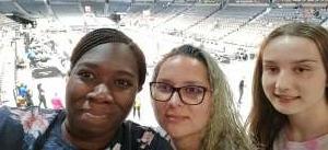 Danielle attended Las Vegas Aces vs. Atlanta Dream - WNBA on Jul 4th 2021 via VetTix